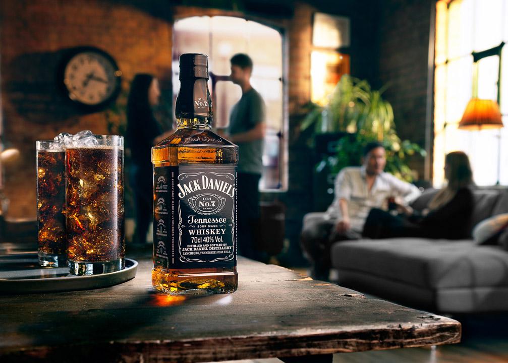 Rượu Jack Daniels Old No.7
